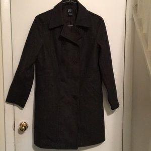 1fb660f667 Gap wool pea coat size medium